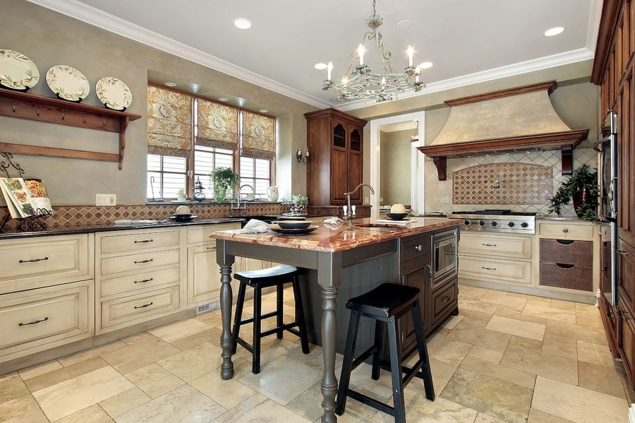 Stone Tile Flooring in Cary, NC